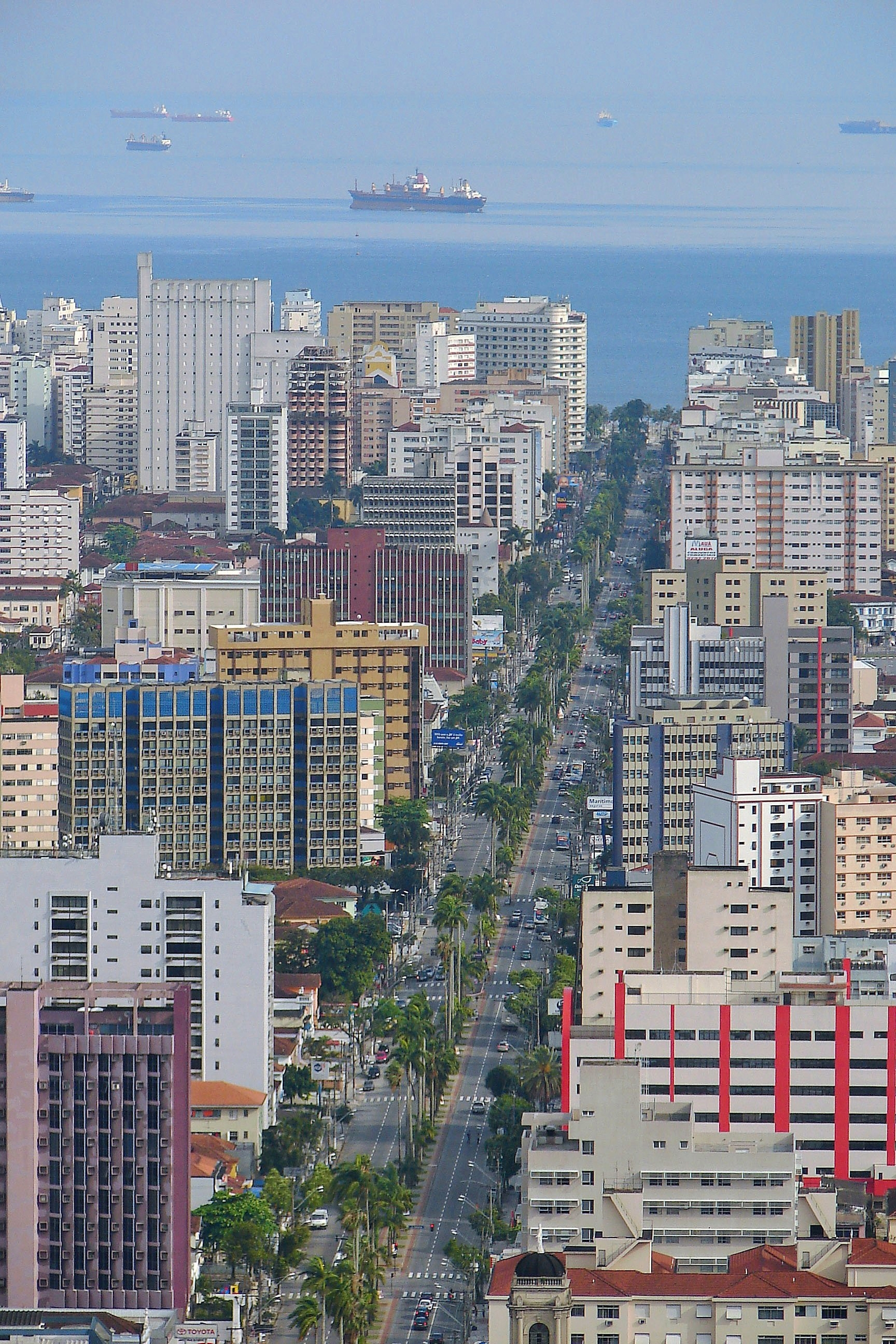 0c13986f12 Vista da Avenida Ana Costa