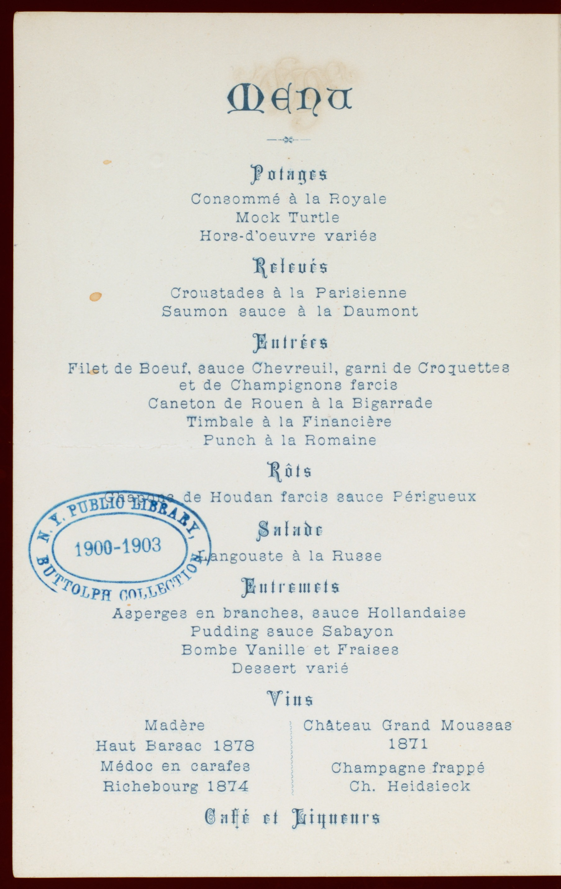 File Banquet For L Pasteur Held By The Stanley Club At Hotel