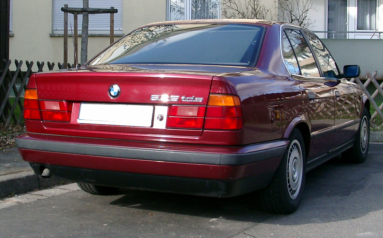 File:BMW 525 rear.jpg