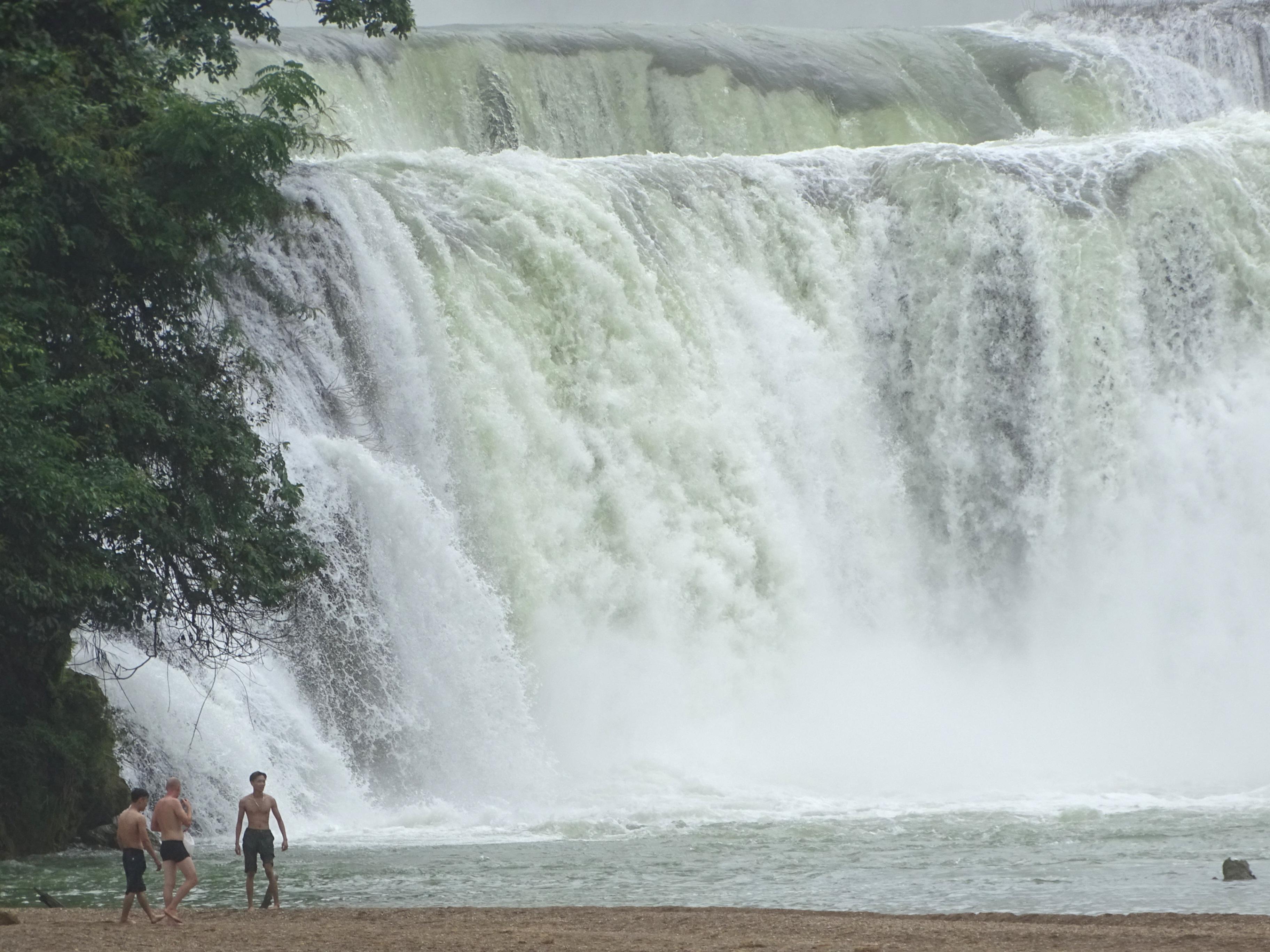 Ban Gioc Waterfall upclose