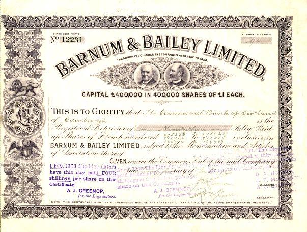 Barnum.aktie