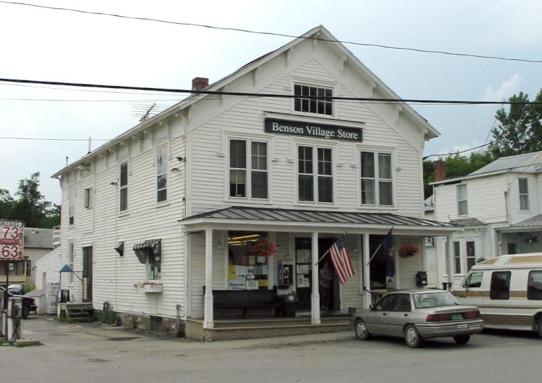Benson Vermont Wikipedia