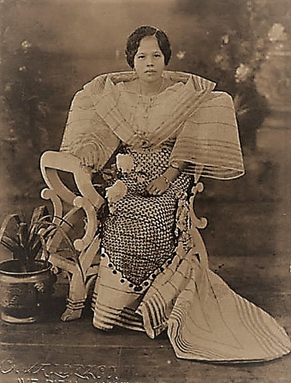 Maria Clara gown