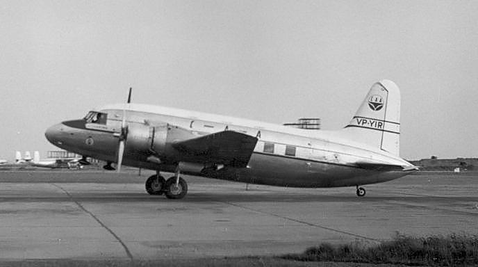 CAA Vickers Viking at Heathrow
