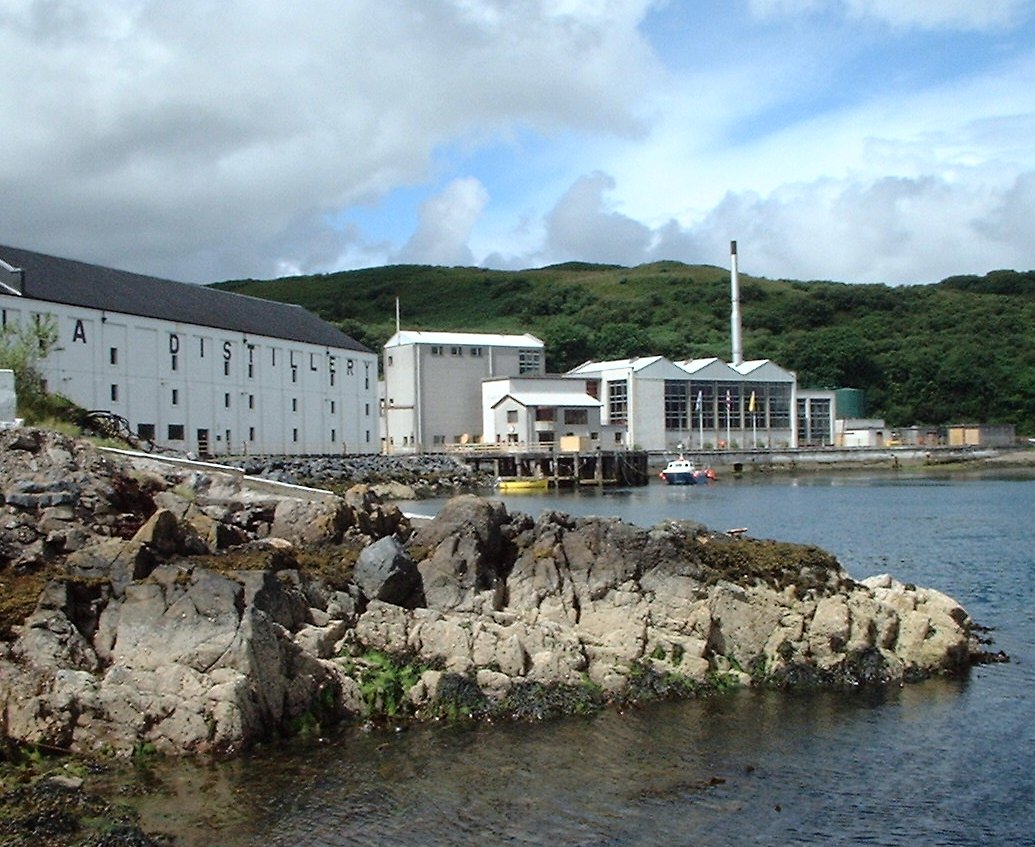 Description caol ila distillery