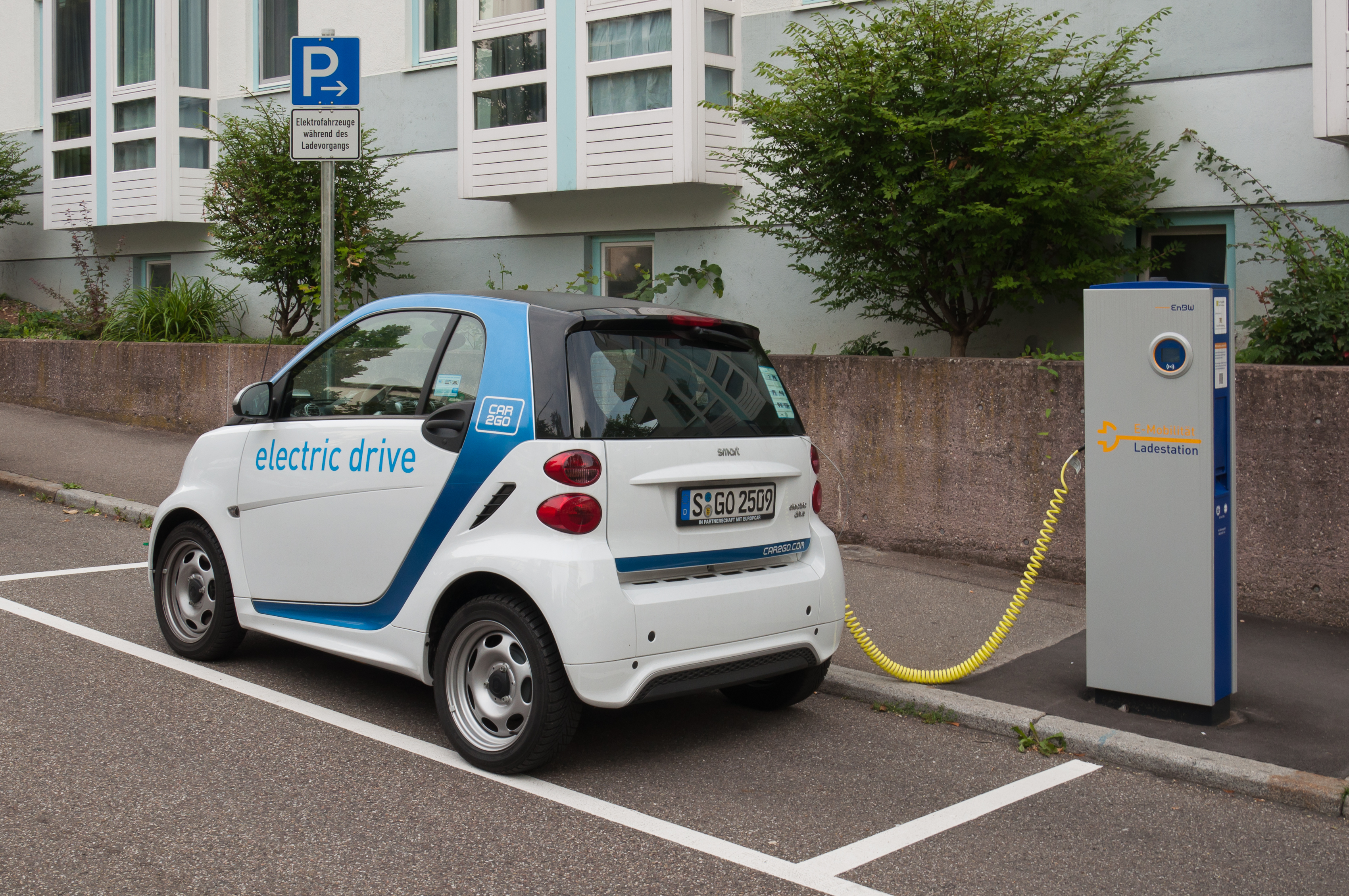 an image of electric%20cars Smart electric drive