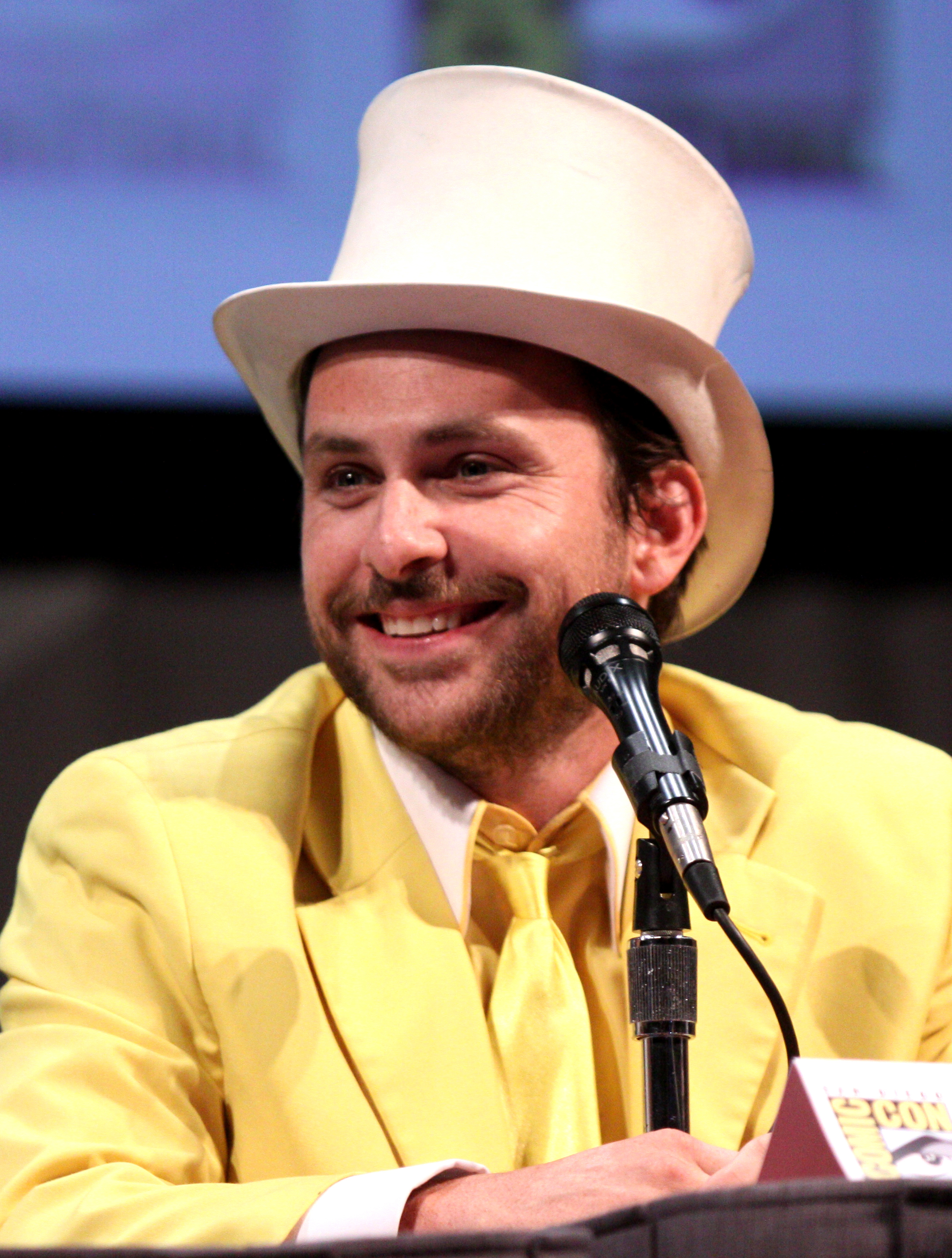 The 45-year old son of father Thomas C. Day and mother Mary Day Charlie Day in 2021 photo. Charlie Day earned a  million dollar salary - leaving the net worth at 14 million in 2021