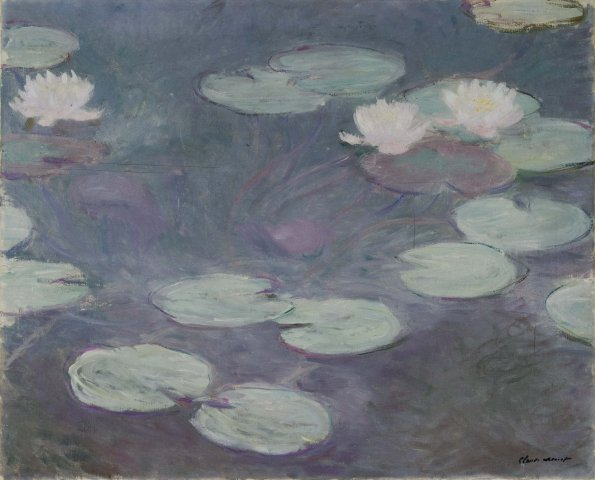 Image:Claude Monet - Waterlilies (Rome).jpg