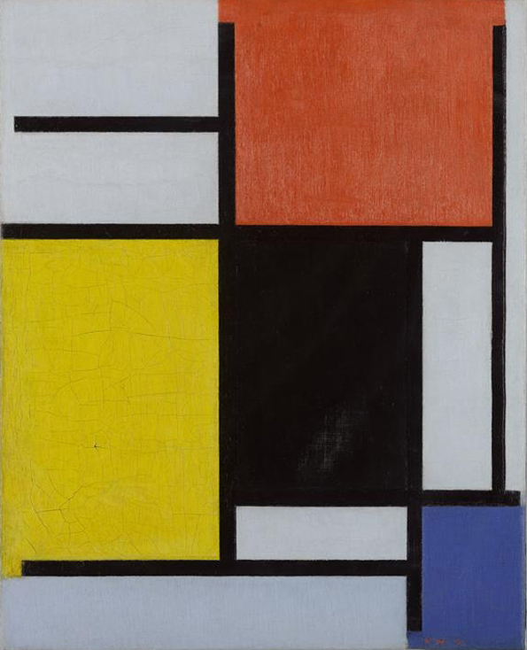 File:Composition with Red, Yellow, Black, Blue and Grey by Piet ...