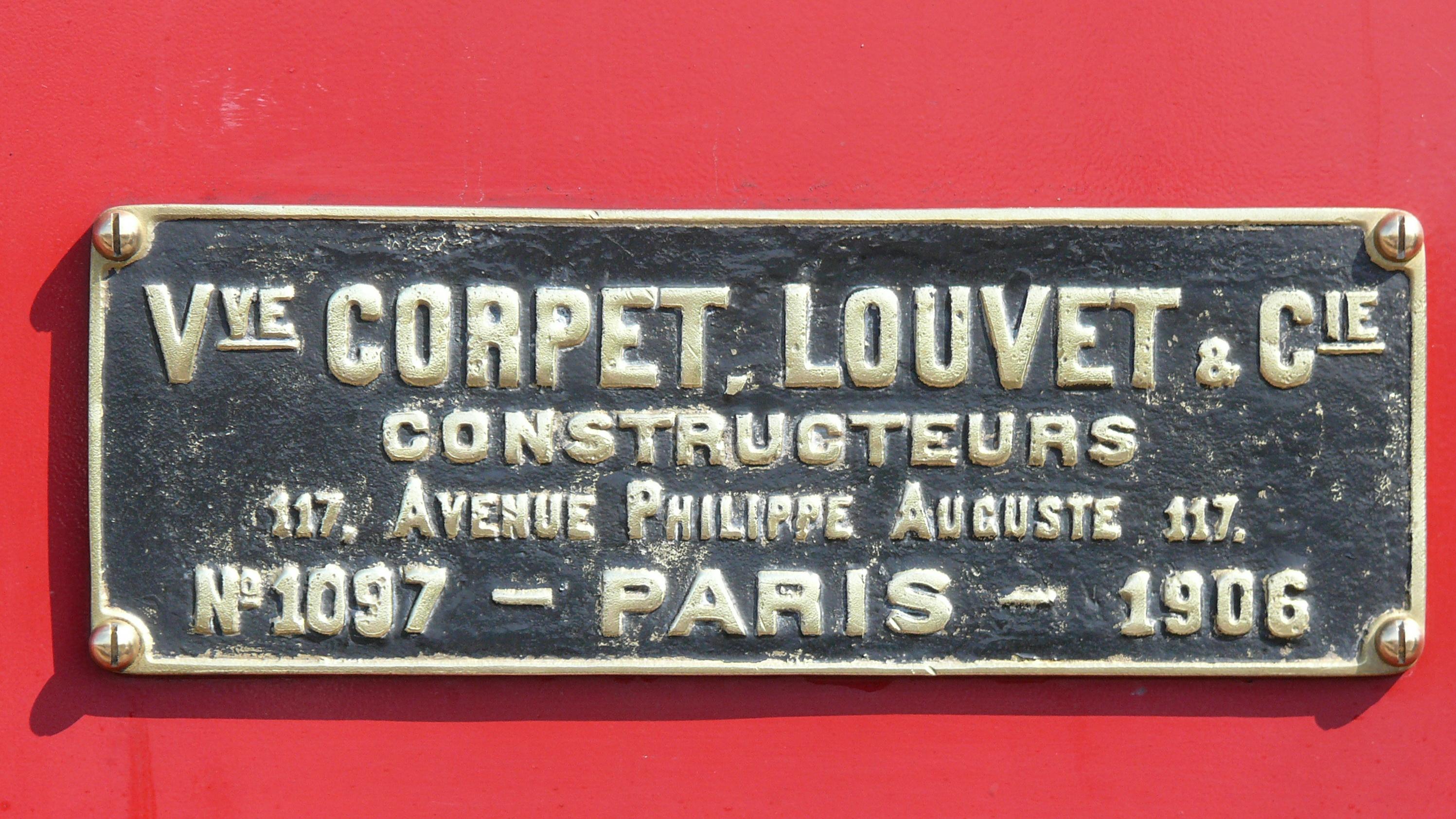 File:Corpet-Louvet N°1097 CDA N°1 Plaque de constructeur.