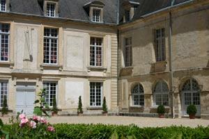 Cour d'honneur du château de Condé (détail)