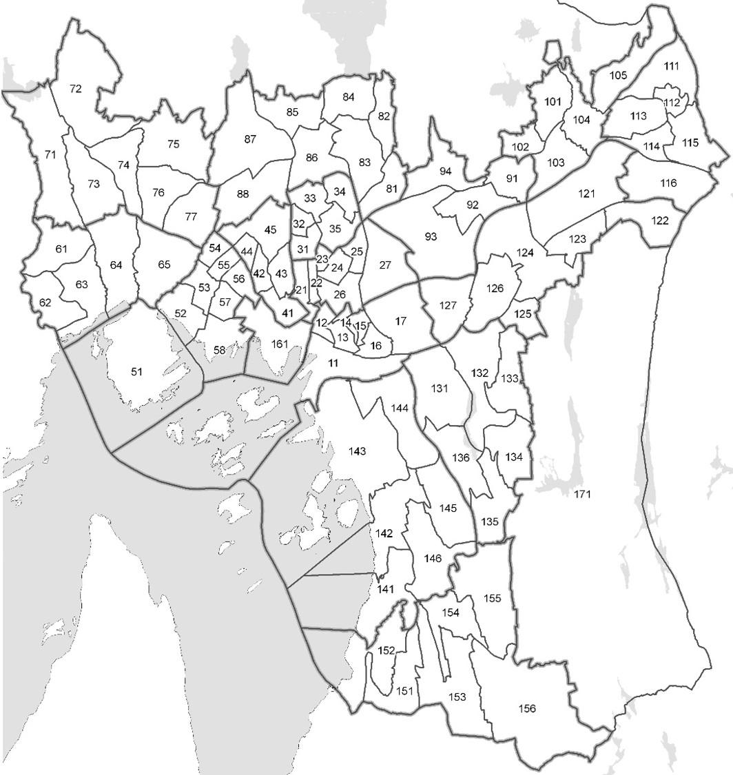 løren oslo kart Delbydeler i Oslo – Wikipedia