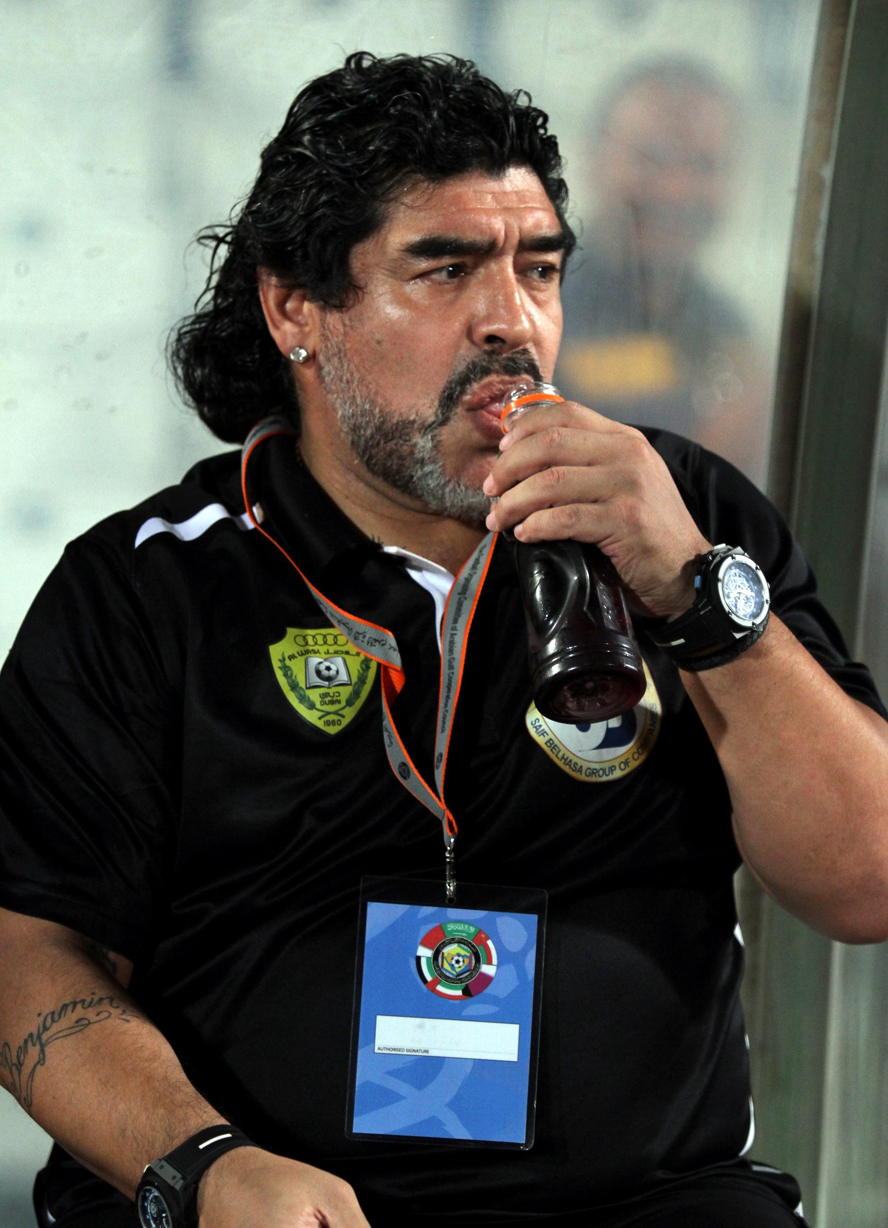 Maradona dating history