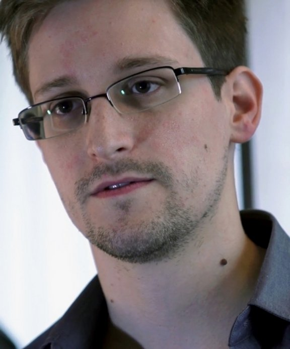 Edward Snowden, Exagente de la CIA y la NSA - foto tomada el 2 de Julio de 2013