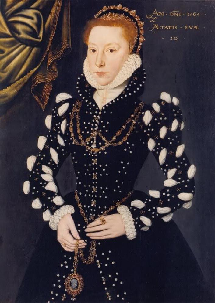 Portrait of Eleanor Benlowes