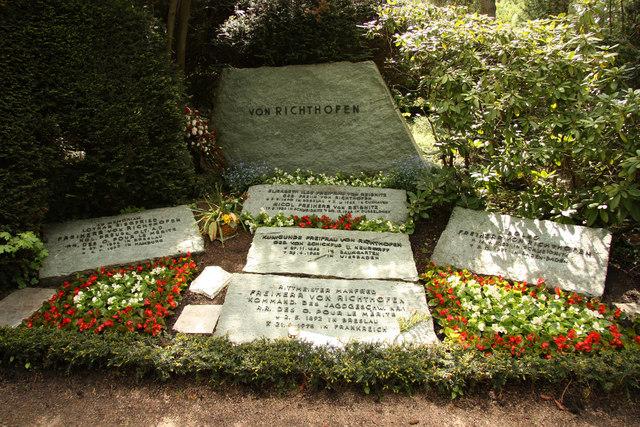 Manfred Von Richthofen Grab