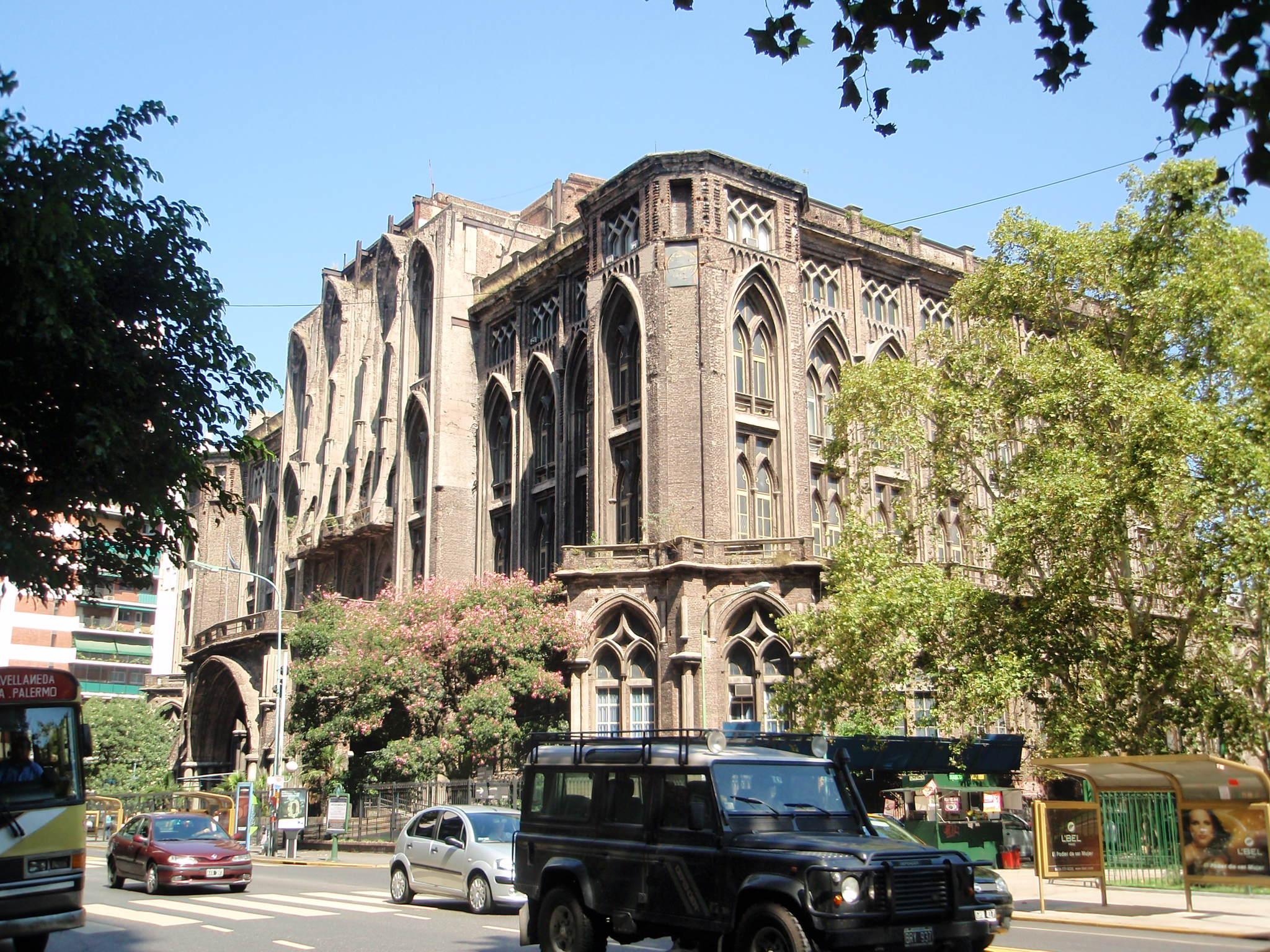 Facultad de Ingeniería (UBA), sede en Las Heras.