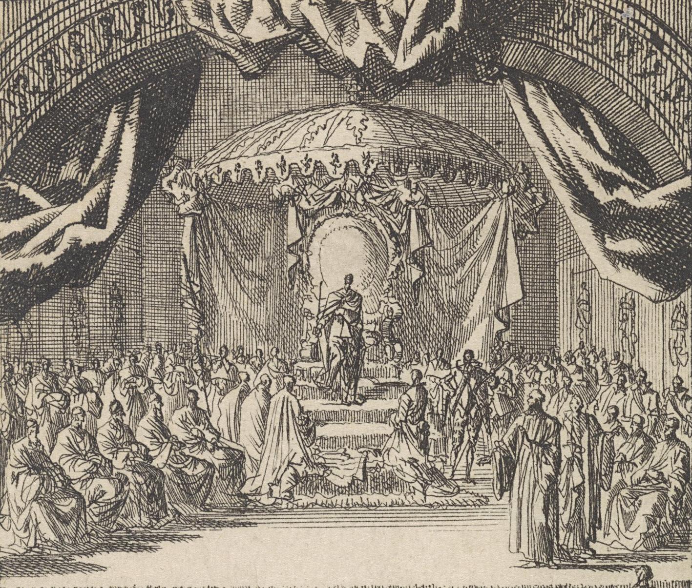 File:Filips II wordt tot koning van Portugal gekroond, 1581 - Jan Luyken (