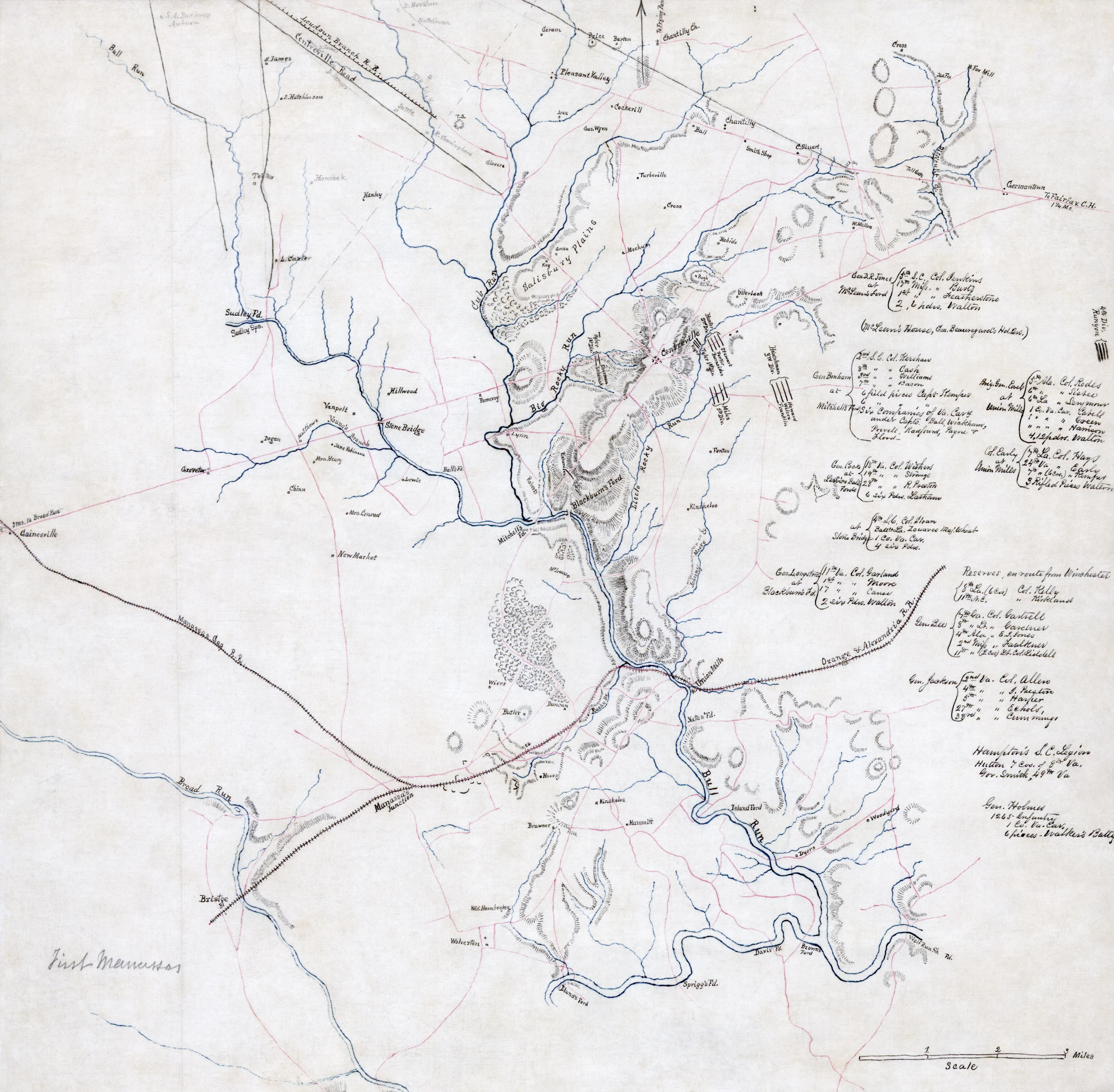 FileFirst Manassas Mapjpg Wikipedia - Us civial war map wiki