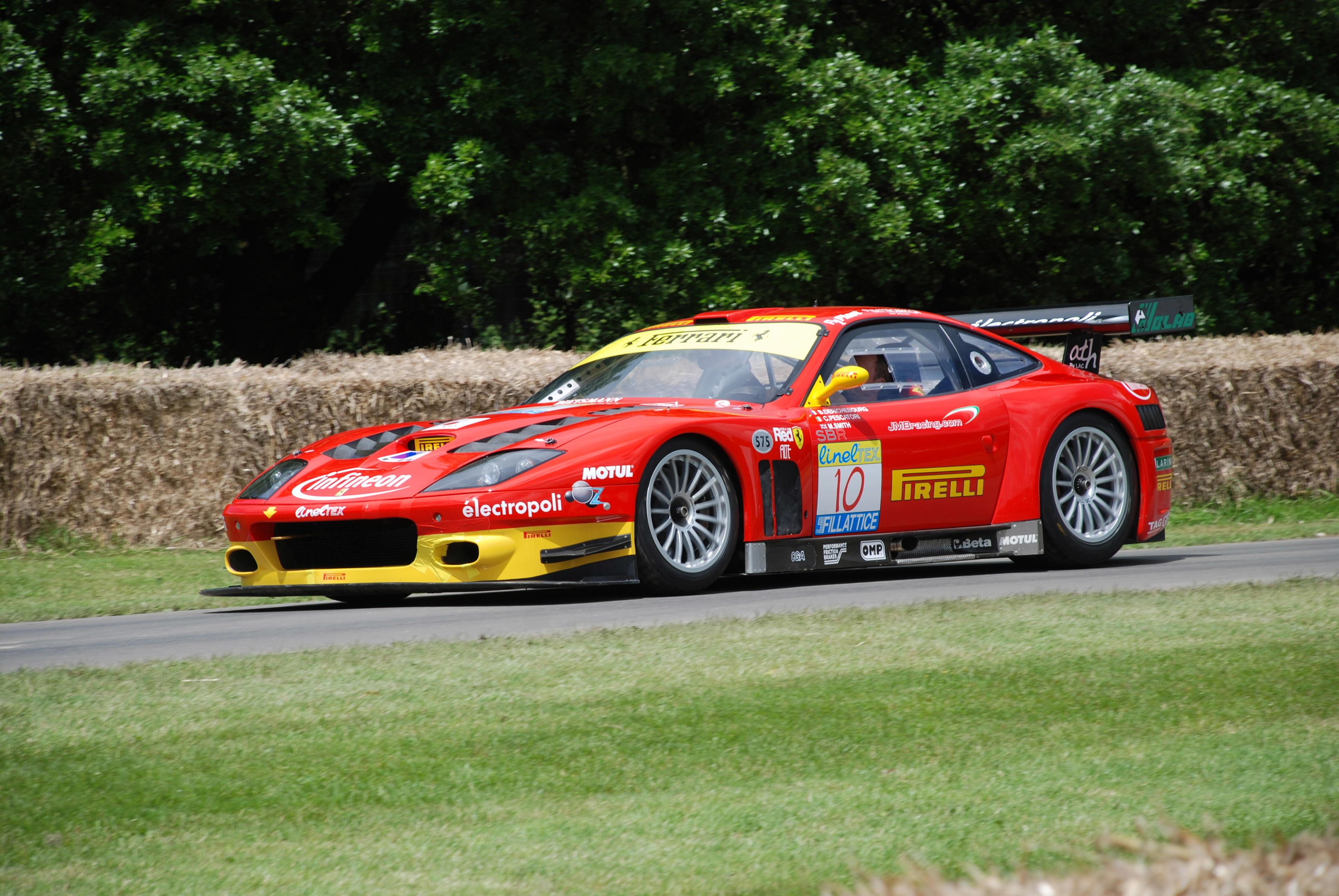 Ferrari 575 Gtc Wikipedia