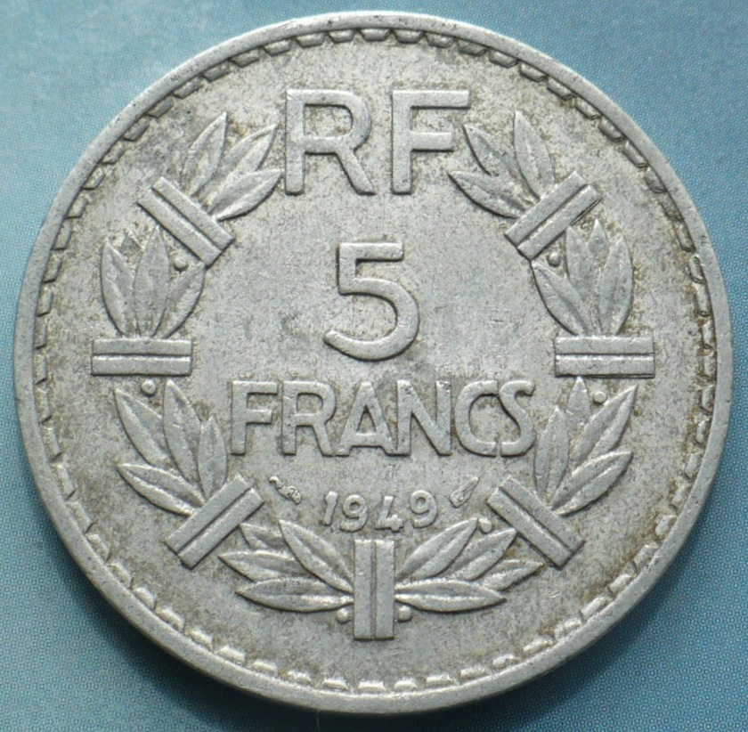 File france 5 francs 1949 jpg wikimedia commons for France francs