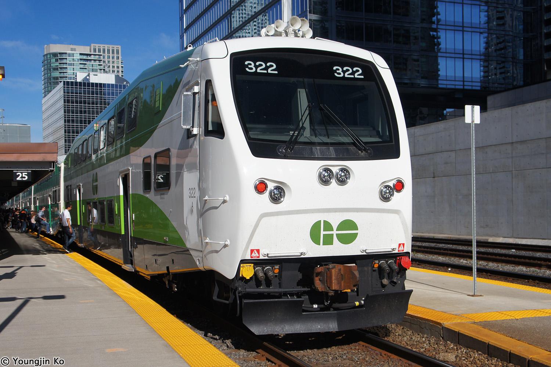 Image result for go transit bi level