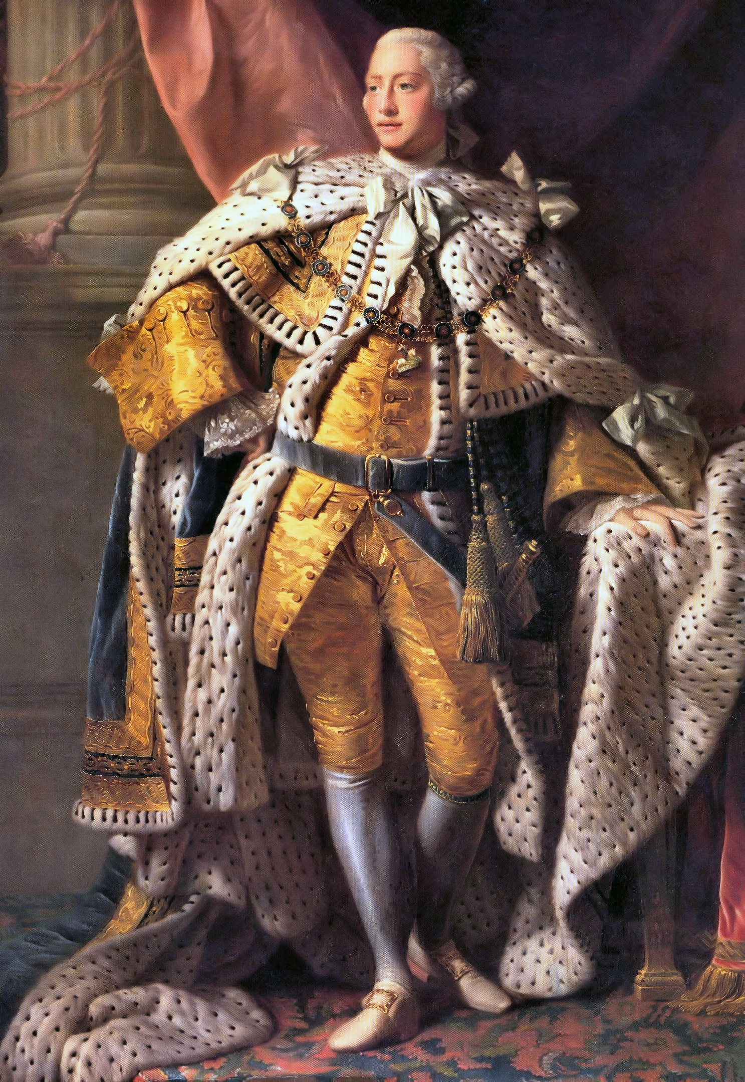 Allan Ramsay: King George III in coronation robes