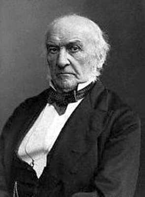 Fotografia raffigurante William Ewart Gladstone