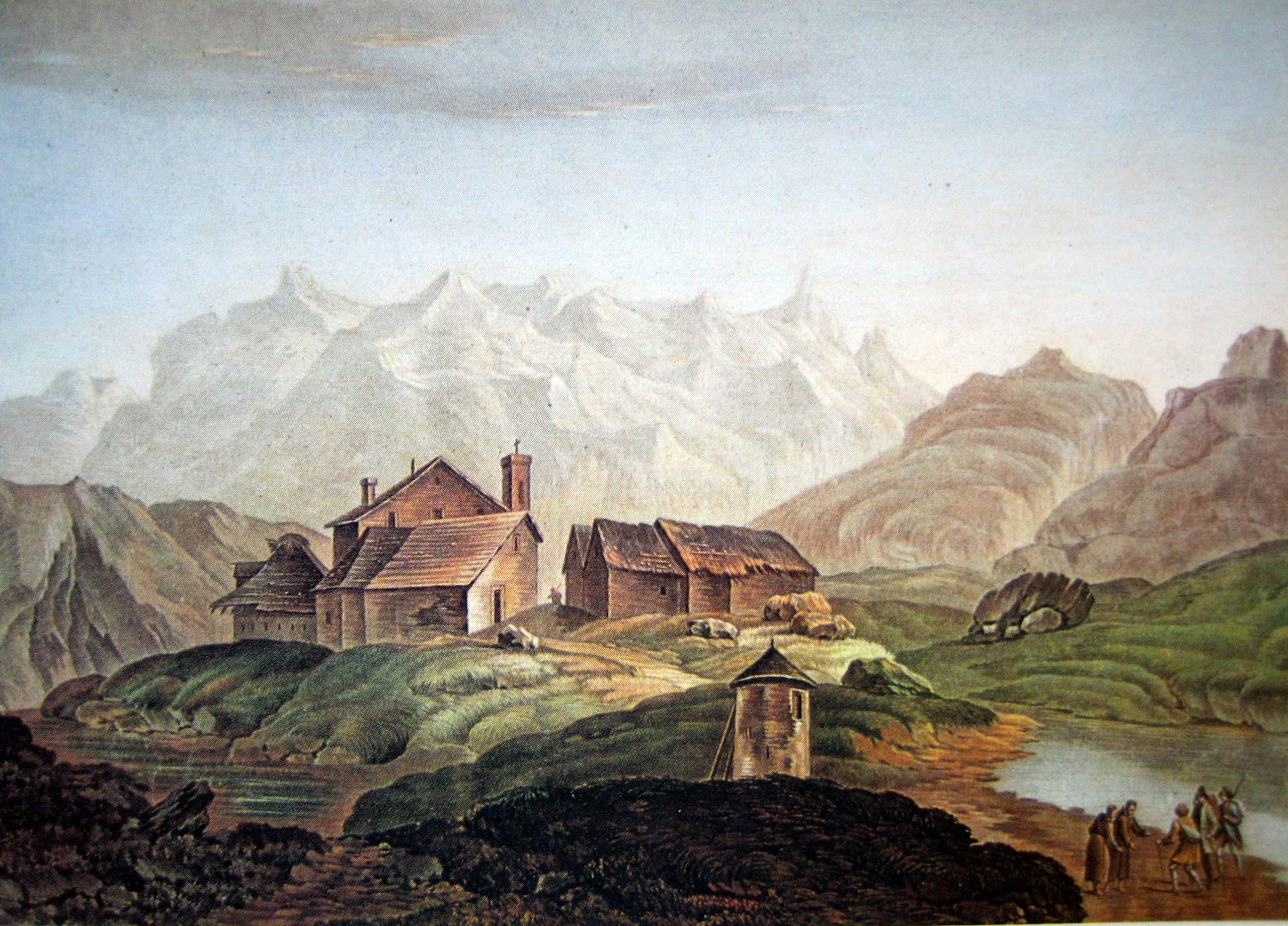 St Gotthard Hospiz file gotthardhospiz 1785 jpg wikimedia commons