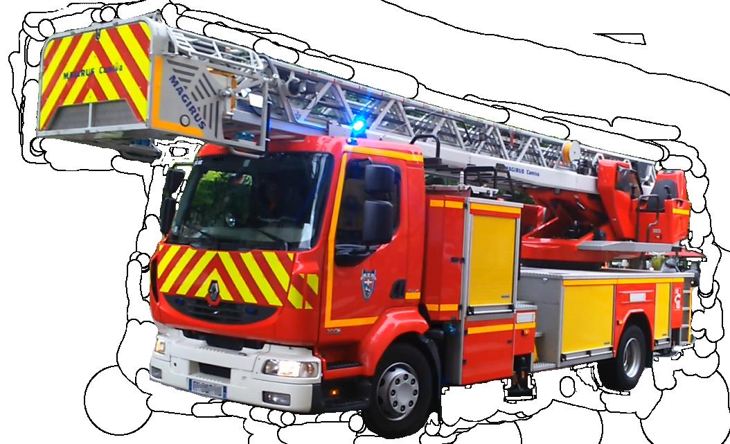 Grande chelle wikip dia - Dessiner un camion de pompier ...