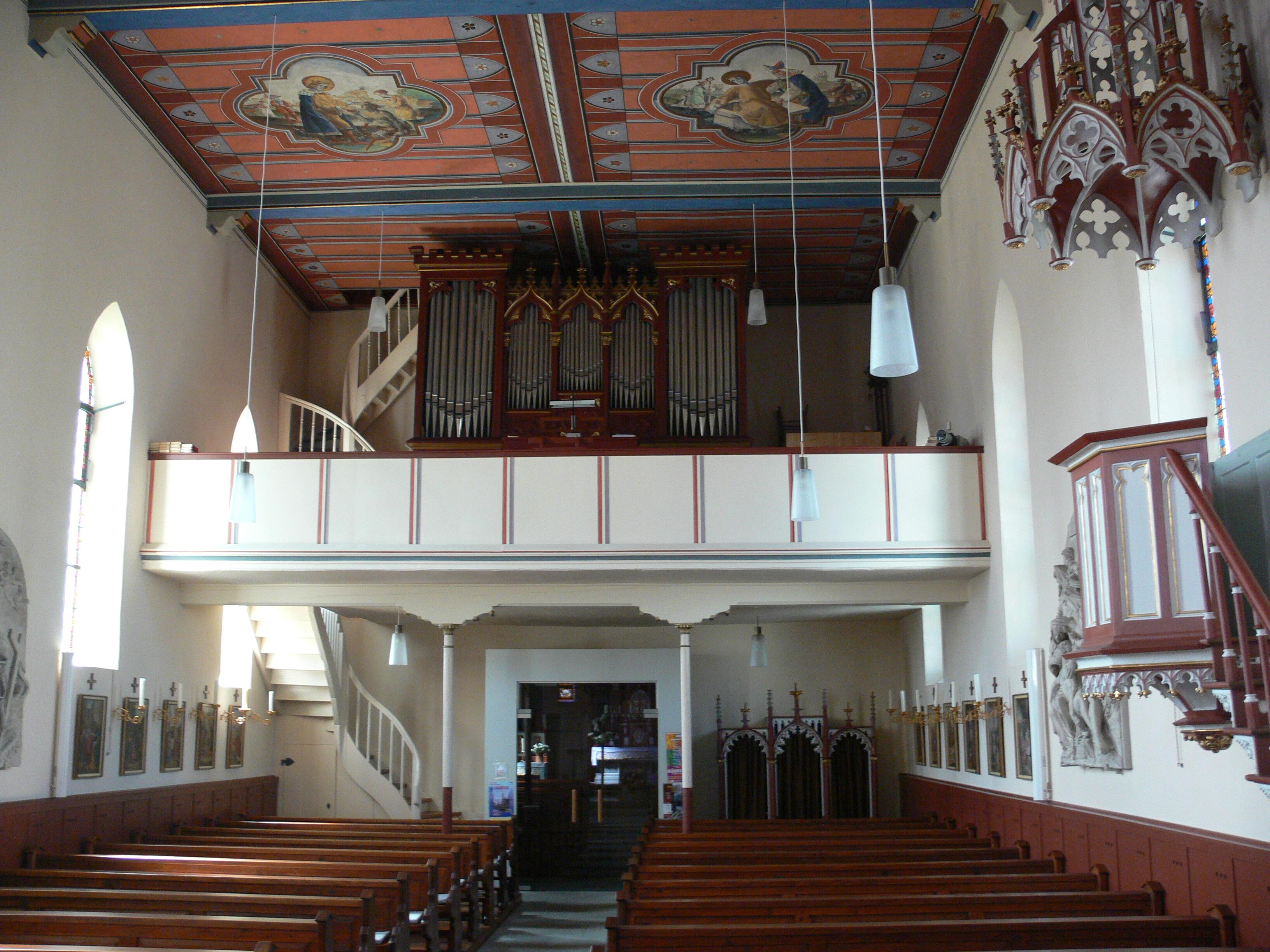 Empore Kirche