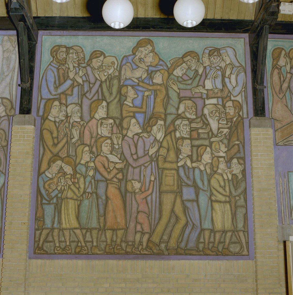 File interieur overzicht muurschildering leiden for Interieur leiden