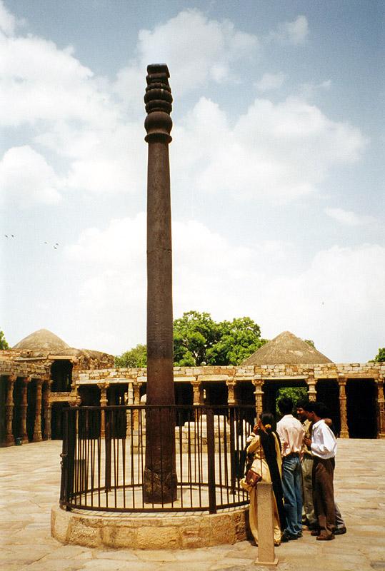 画像:Iron-pillar