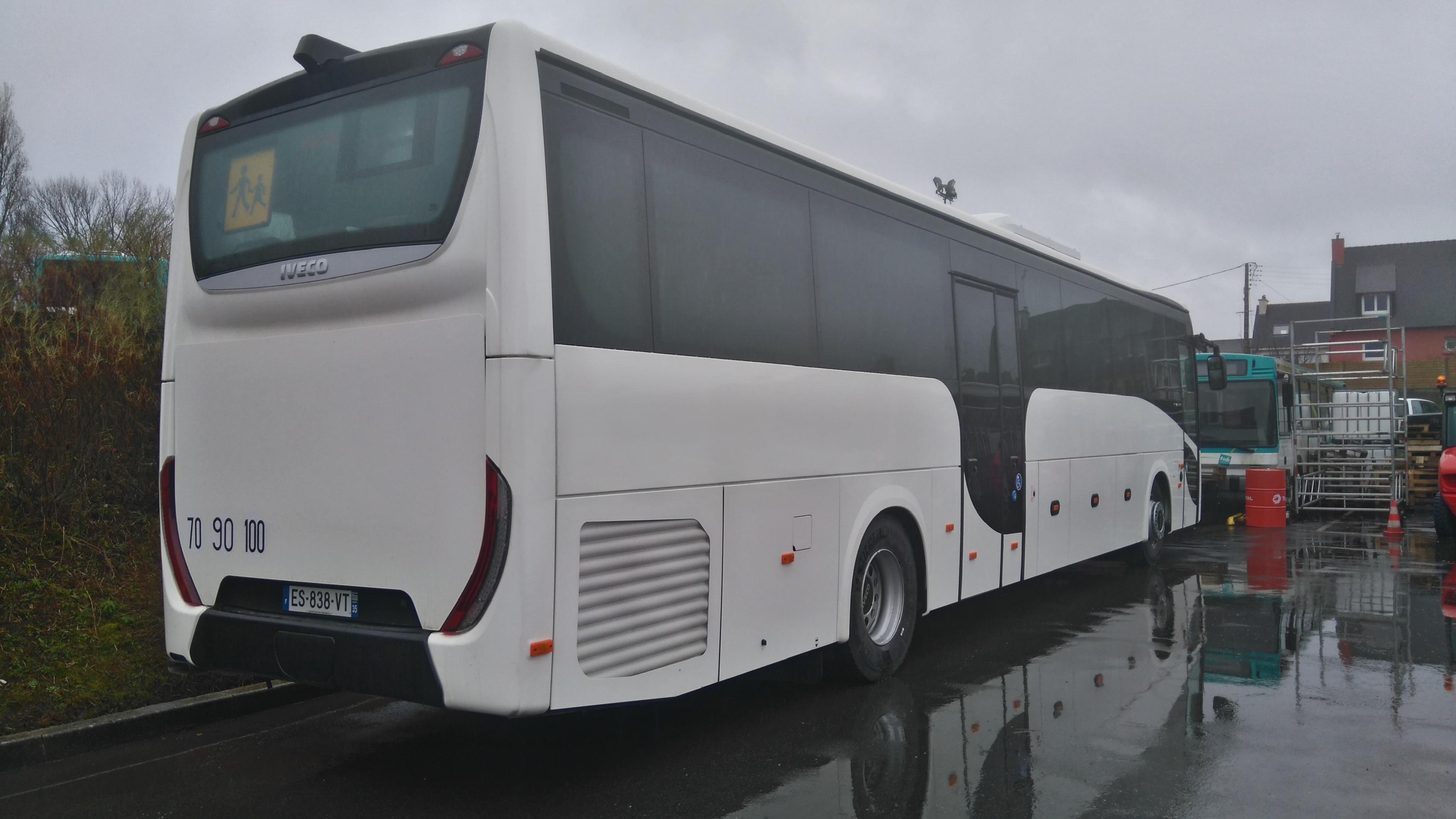 L'autocar tout électrique Iveco_Bus_Evadys3