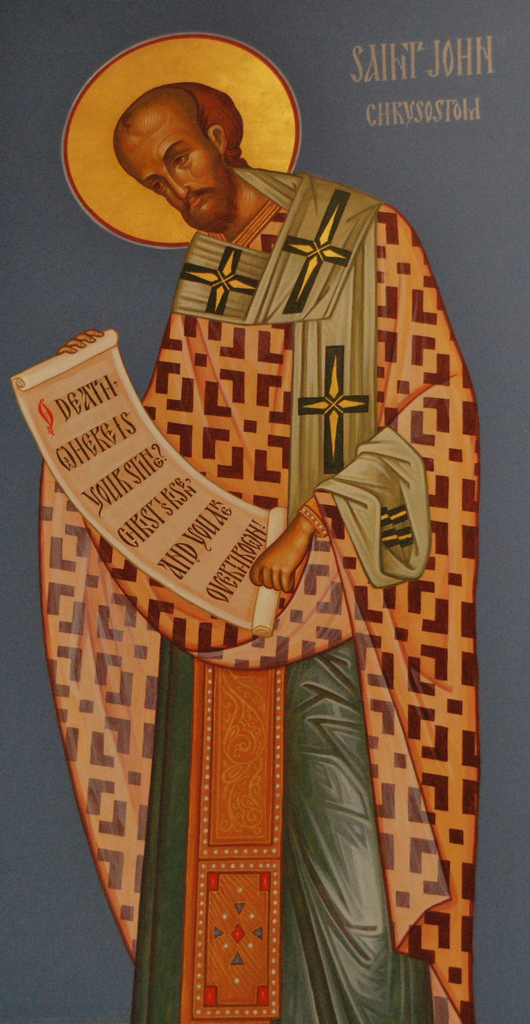 File:John Chrysostom, St. Paul the Apostle Orthodox Church, Dayton,  Ohio.jpg - Wikimedia Commons