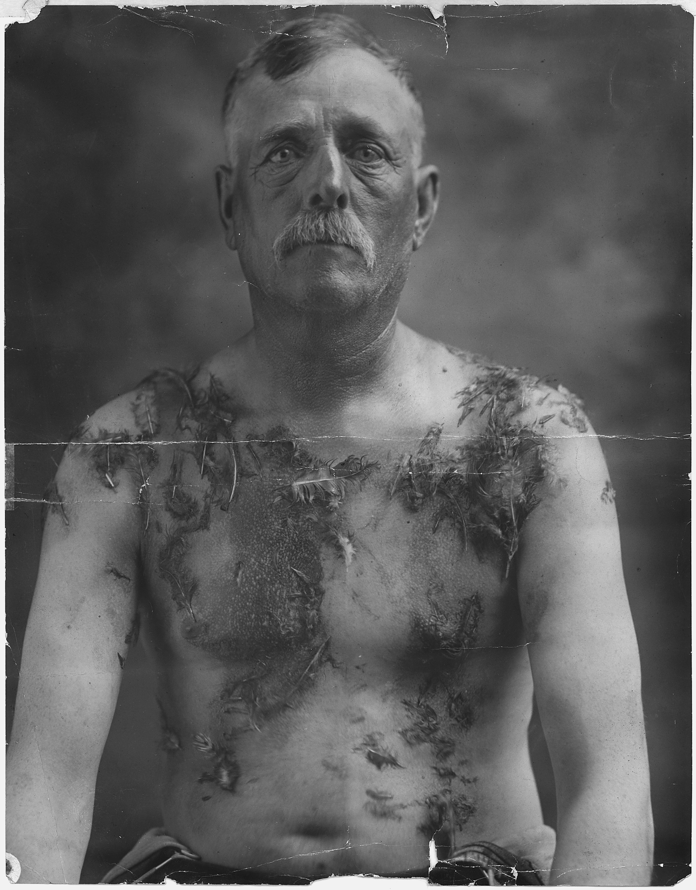John Meints was tarred and feathered in Minnesota during World War I