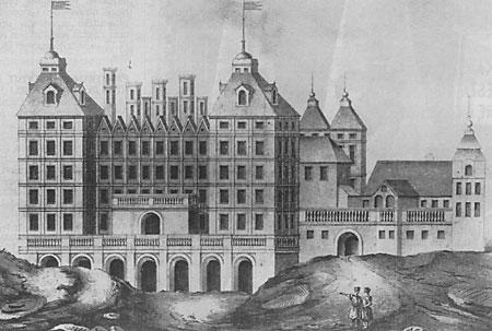 Kazanowski Palace in Warsaw owned by El bieta S uszka of Ostoja