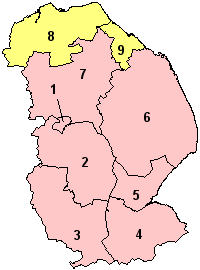 Location of Lincolnshire