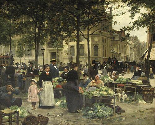 Людек Marold - Zelinarsky трг v Parizi.jpg