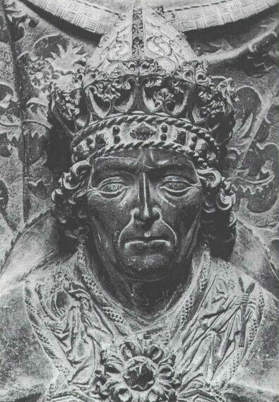 Grabplatte des römisch-deutschen Königs Ludwig IV. des Bayern (1314-1347) von 1468