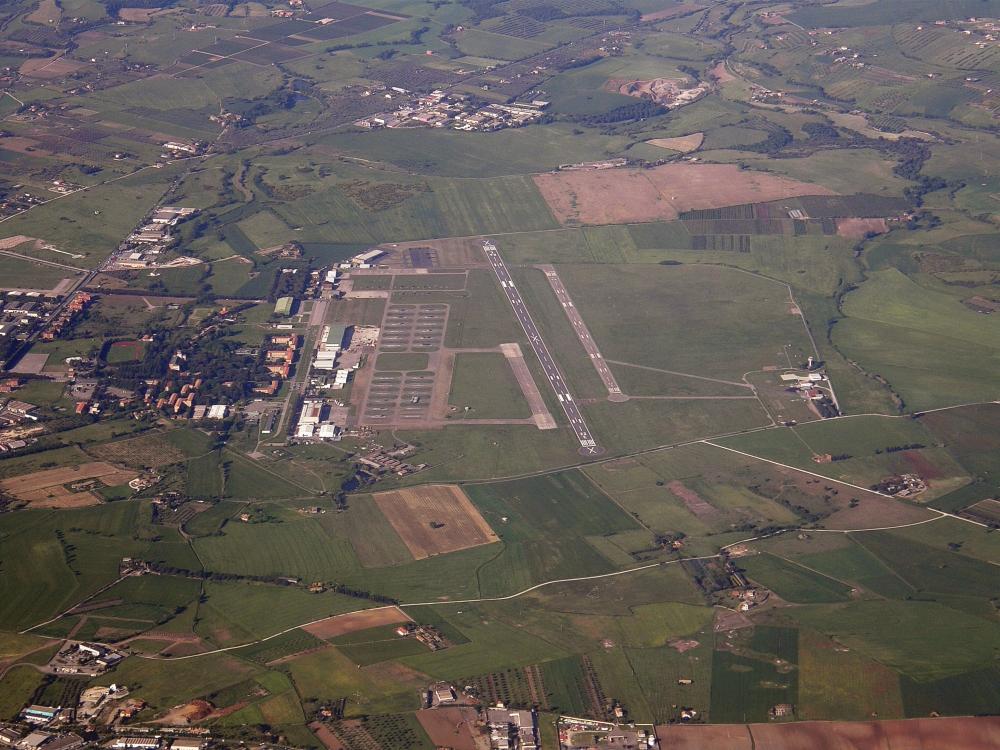 فرودگاه ویتربو، رم