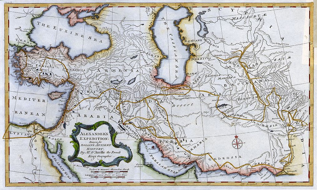map of armenia and albania 1760 jpg