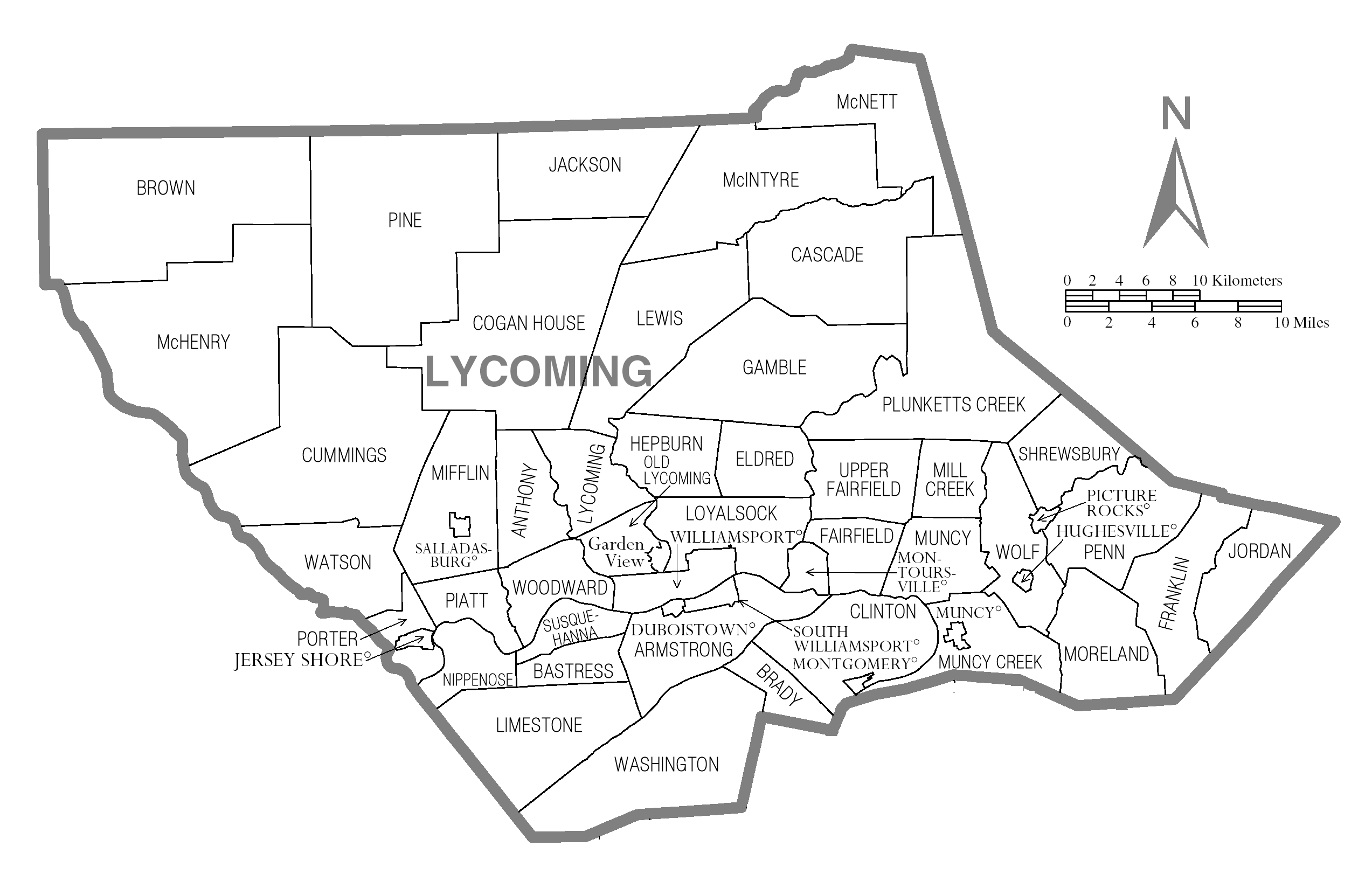 Lycoming County, Pennsylvania detailed profile - houses ...