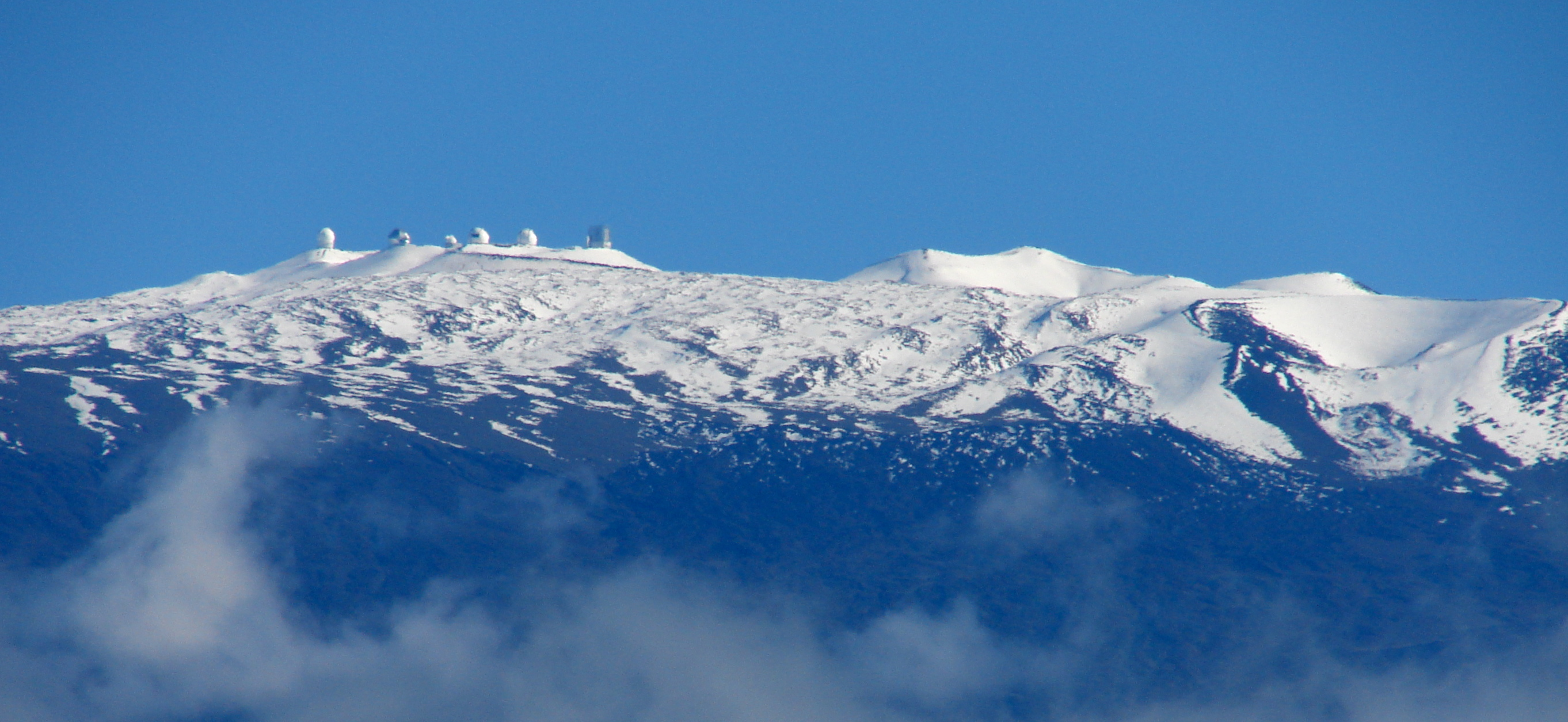 Hawaii mountains mauna kea webcam
