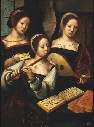 Flauta travesera renacentista
