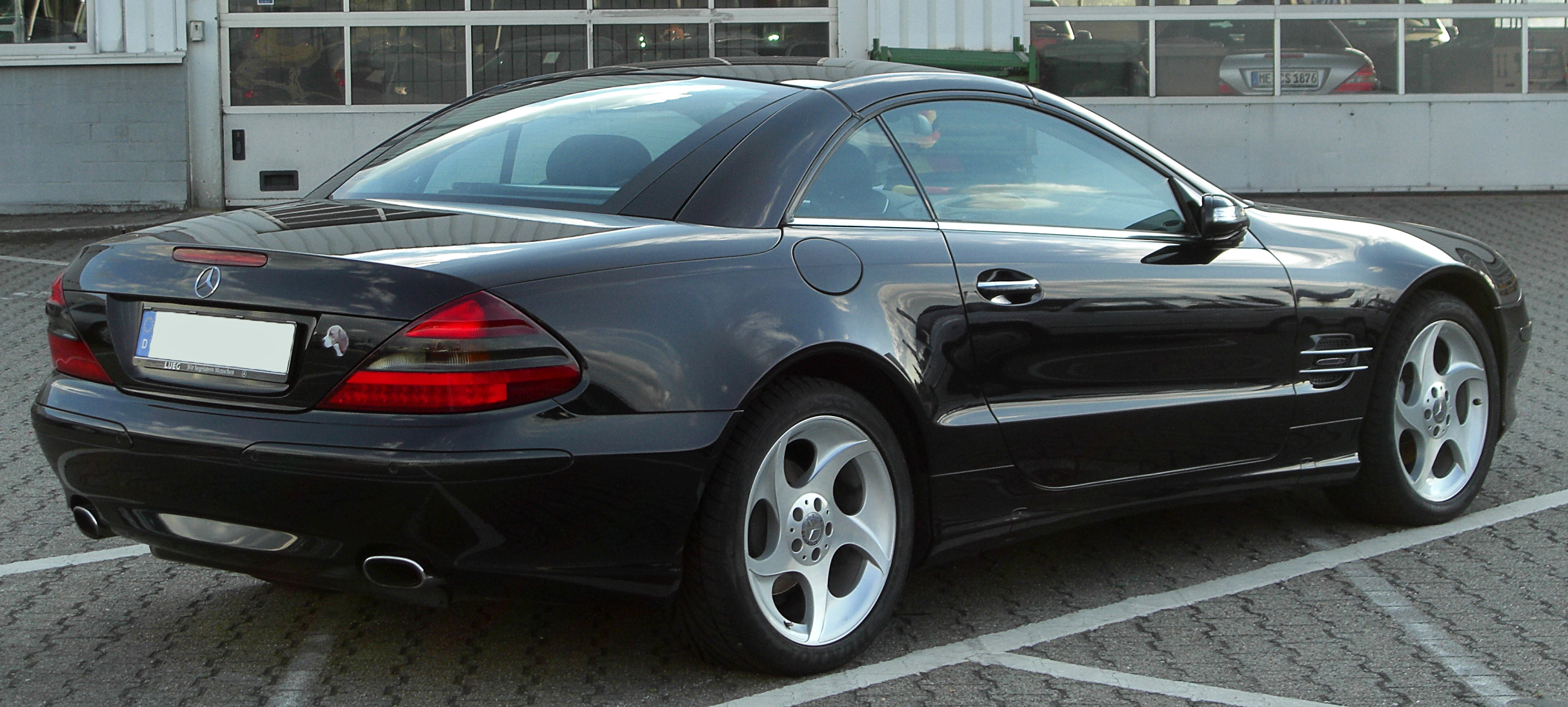 File mercedes sl edition 50 r230 rear for Mercedes benz 50