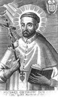 blaženi Mihael Giedrojć - kovinar, redovnik in puščavnik