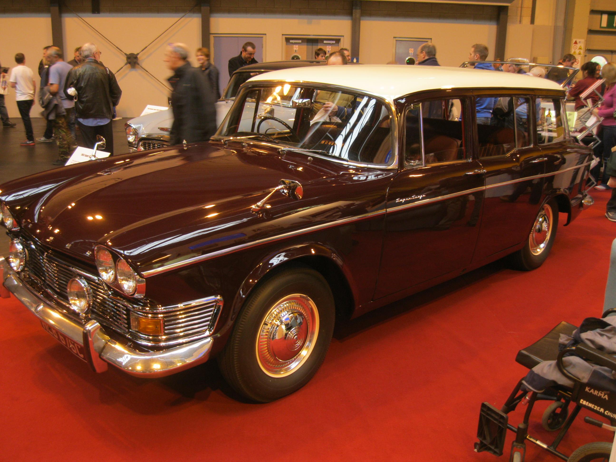 File:Mid-1960s Humber Super Snipe Mk.V Estate Car (10966532814).jpg ...