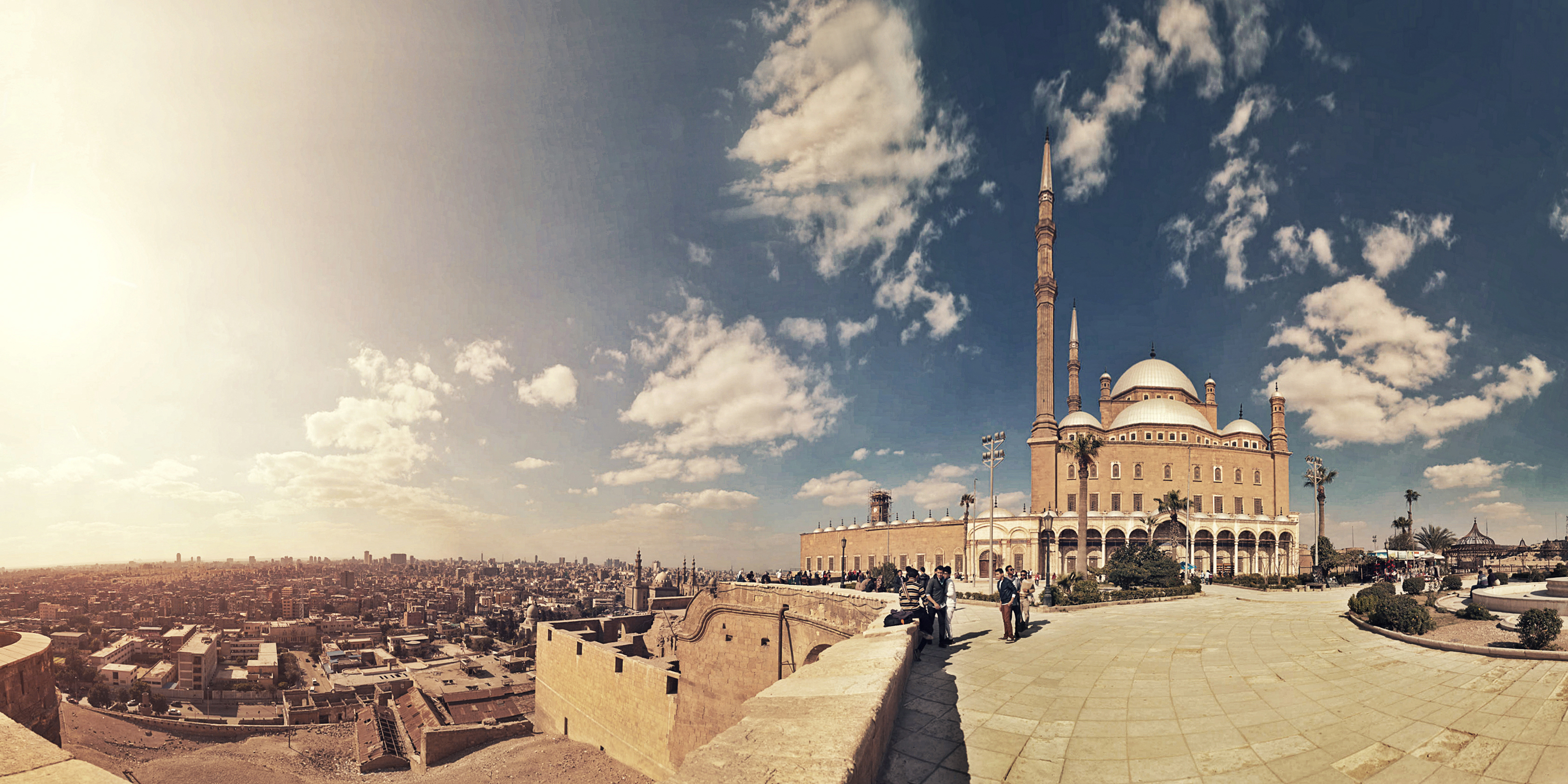 Filemohamed Ali Mosque And Cairo Panorama Viewjpg