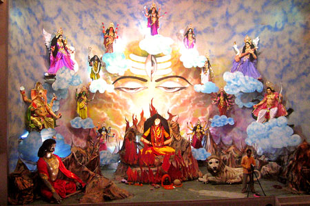 [Navadurga Worshipped in Varanasi]